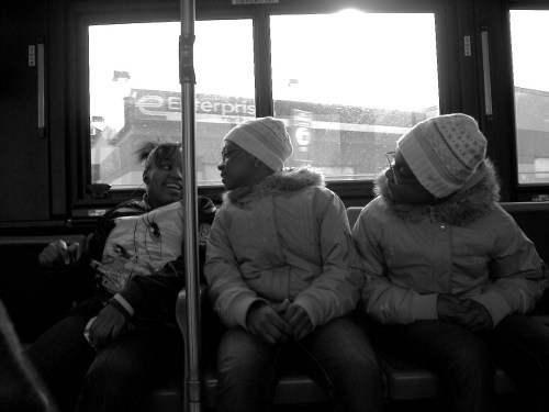 bus b